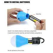 E-TRENDS-2-Pack-Portable-LED-Lantern-Tent-Light-Bulb-Camping-Hiking-Fishing-Emergency-Light-Battery-Powered-Camping-Equipment-Gear-Gadgets-Lamp-Outdoor-Indoor-0-2
