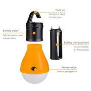 Eletorot-Camping-Light-Tent-Light-Portable-Outdoor-Waterproof-Camping-Lantern-Tent-LED-Light-Bulb-COB150-Lumens-Emergency-Light-Lamp-Lantern-for-CampingHikingFishingHuntingBackpacking-0-1