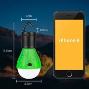 Eletorot-Camping-Light-Tent-Light-Portable-Outdoor-Waterproof-Camping-Lantern-Tent-LED-Light-Bulb-COB150-Lumens-Emergency-Light-Lamp-Lantern-for-CampingHikingFishingHuntingBackpacking-0-5