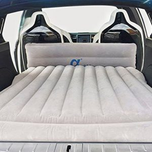 FITTOP-Topfit-Tesla-Car-Camping-Air-Bed-Travel-Inflatable-Mattress-Vehicle-Mount-Tesla-Model-S-and-Model-X-5-SeatCar-Inflation-Bed-Extended-Air-Couch-for-Tesla-Model-X-6-Seat-0