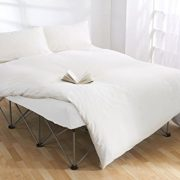 Inflatable-Double-Guest-Air-Bed-Lightweight-Folding-Steel-Frame-with-Deflateable-Option-for-Easy-Compact-Storage-0-1