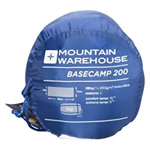 Mountain-Warehouse-Basecamp-200-Sleeping-Bag-Easy-Care-All-Season-Sleeping-Bag-Warm-Kids-Camping-Bag-Extreme-Temperature-Of-5C-For-Adults-Children-0