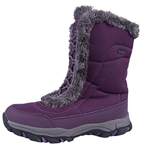 Mountain-Warehouse-Ohio-Womens-Snow-Boots-Waterproof-Ladies-Winter-Shoes-Textile-Upper-Durable-Breathable-Isotherm-Lining-Rubber-Outsole-fit-Comfort-0