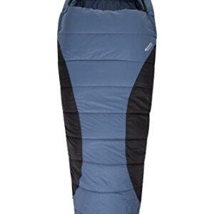 Mountain-Warehouse-Summit-250-XL-Sleeping-Bag-2-Way-Zip-Essential-Mummy-Shape-Mattress-Hoodie-Ripstop-Hollow-Fibre-Ideal-Camping-Equipment-For-Backpacking-Trips-Hiking-0