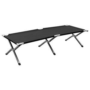 MultiWare-Folding-Camping-Bed-Ourdoor-Travel-Camp-Aluminium-Steel-Legs-0
