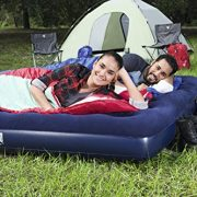 Pavillo-Airbed-Quick-Inflation-Outdoor-Camping-Air-Mattress-Blue-0-7