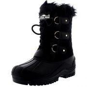 Polarr-Polar-Womens-Short-Snow-Winter-Tactical-Mountain-Waterproof-Hiker-Mid-Calf-Walking-Boot-0