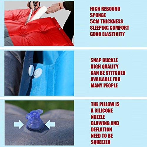 Self Inflating Camping Sleeping Pad Mat Mattress Bed Outad