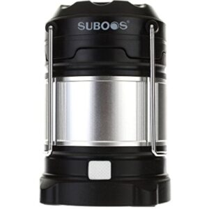 SUBOOS-Ultimate-Rechargeable-LED-Lantern-and-5200mAh-Power-Bank-4-Brightness-Modes-Compact-and-Collapsible-Water-Resistant-IPX5-Great-Light-for-Camping-Hiking-Loft-Shed-Power-Outages-2-Battery-Options-0