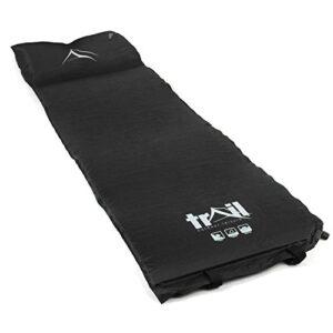 Single-Self-Inflating-Camping-Roll-Mat-Inflatable-Pillow-Sleeping-Mattress-Pad-0