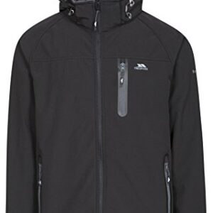 Trespass-Mens-Accelerator-II-Waterproof-Softshell-Jacket-with-Removable-Hood-Black-Large-0