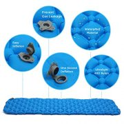 Ultralight-Inflating-MattressCAMTOA-Inflating-MatInflatable-Pad-MattressInflating-Sleeping-PadAir-BedInflatable-LoungerCamping-Sleeping-MatAir-Mattress-CompactWaterproofMoistureproofComfortable-for-Hi-0-1