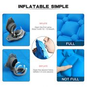 Ultralight-Inflating-MattressCAMTOA-Inflating-MatInflatable-Pad-MattressInflating-Sleeping-PadAir-BedInflatable-LoungerCamping-Sleeping-MatAir-Mattress-CompactWaterproofMoistureproofComfortable-for-Hi-0-3