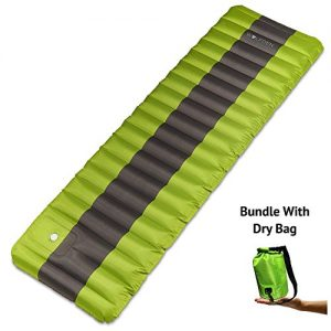 Wolf-Den-Inflatable-Camping-Air-Bed-and-Waterproof-Dry-Bag-Bundle-with-Integrated-Pump-0