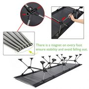 YAHILL-Ultralight-Folding-Fishing-Camping-Bed-Sleeping-Portable-Backpack-Tent-Cot-Replacements-Aluminium-Alloy-for-Indoor-Furniture-Outdoor-Travel-Hiking-Hunting-0-2