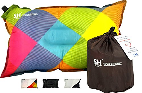 YOUR-Pillow-by-SHO-Ultimate-Self-Inflating-Camping-Pillow-Travel-Pillow-Air-Pillow-Inflatable-Pillow-Festival-Pillow-Lifetime-Guarantee-0