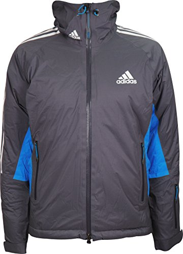 adidas-Coach-Primaloft-Ladies-Climaproof-Storm-Jacket-Grey-0