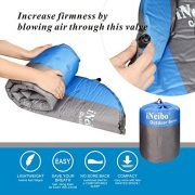 iNeibo-Self-Inflating-Sleeping-Mat-Inflatable-Camping-MatSleeping-Pad-Compact-Lightweight-Camp-MatInflatable-Roll-Up-Foam-Bed-as-Tent-Pads-Hammock-Mats-for-Adult-or-Kids-Outdoor-Hiking-Camping-Winter--0-2